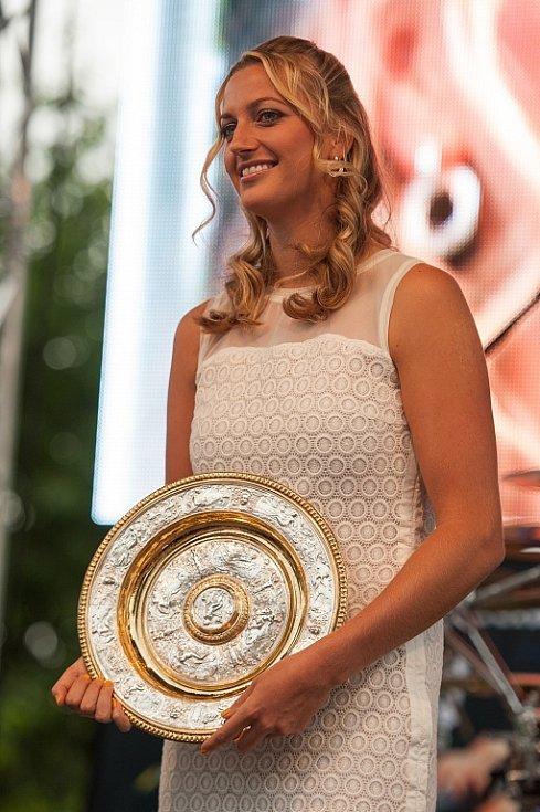 V neděli 14. července 2014 ve Fulneku davy fanoušků opět přivítaly slavnou rodačku - tenistku Petru Kvitovou.