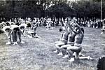 Spartakiáda v roce 1960 přilákala mnoho lidí.