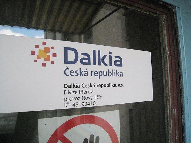 Tepelnou energii v Novém Jičíně dodávaná společnost Dalkia.