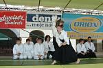 Děti ze Střediska volného času Fokus předvedli bojové umění Aikido.