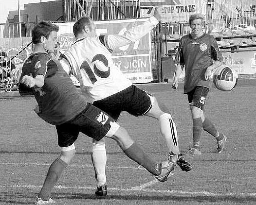 Fotbalisté Nového Jičína prohráli v Brumově a nenavázali tak na podzimní duel, který doma vyhráli 4:3 (na snímku).