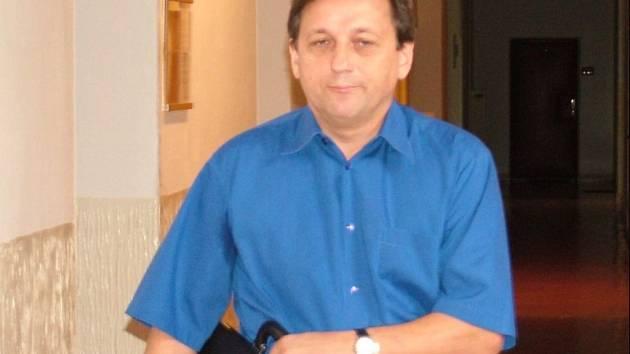 Milan Bortel u Okresního soudu v Novém Jičíně.