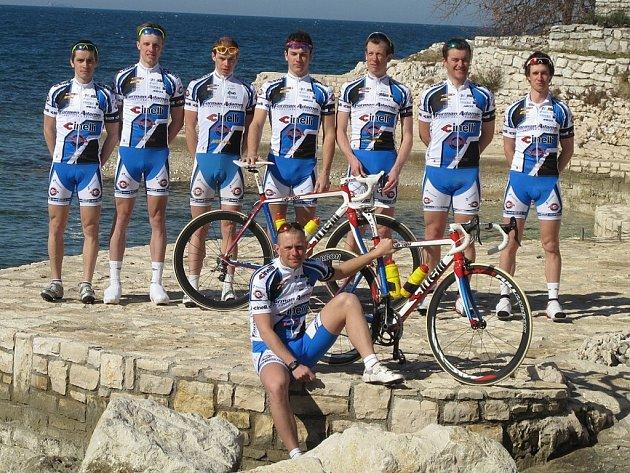 Novojičínský cyklistický tým Forman Cinelli.