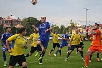 Fotbalisté Nového Jičína čekají na telefon od trenéra. Foto: VLM