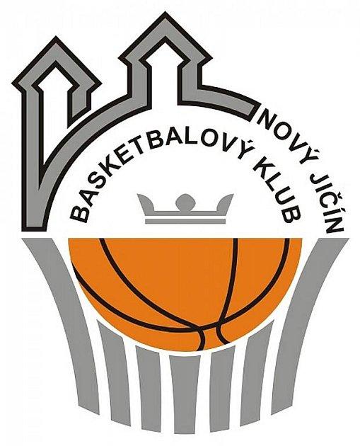 Logo basketbalového klubu Nový Jičín.