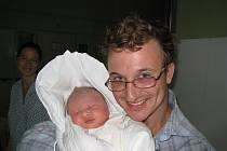 Daniel Justin Roy, Kopřivnice, nar. 30. 4. 2008, 4450 g, 53 cm
