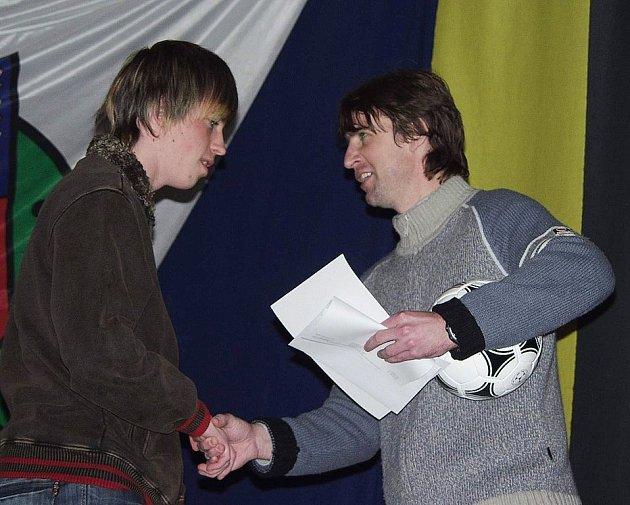Jan Baránek (vpravo)