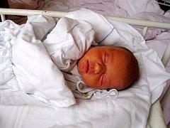Adéla Kulíšková, nar. 19. 11. 2010., 50 cm, 3, 49 kg, Kopřivnice, nemocnice Nový Jičín.
