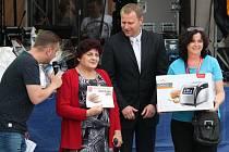 Do soutěže Bílovecký bochník 2015 bylo přihlášeno celkem 15 chlebů.