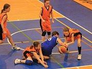 Příborské basketbalistky.