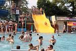 Frenštátský aquapark patří k hojně navštěvovaným. Otevře v sobotu 5. června 2021.