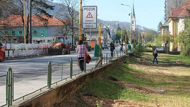 Přes osm desítek vzrostlých stromů musela kopřivnická radnice pokácet na začátku dubna letošního roku. Důvodem byla náročná rekonstrukce tamní ulice Štefánikova.