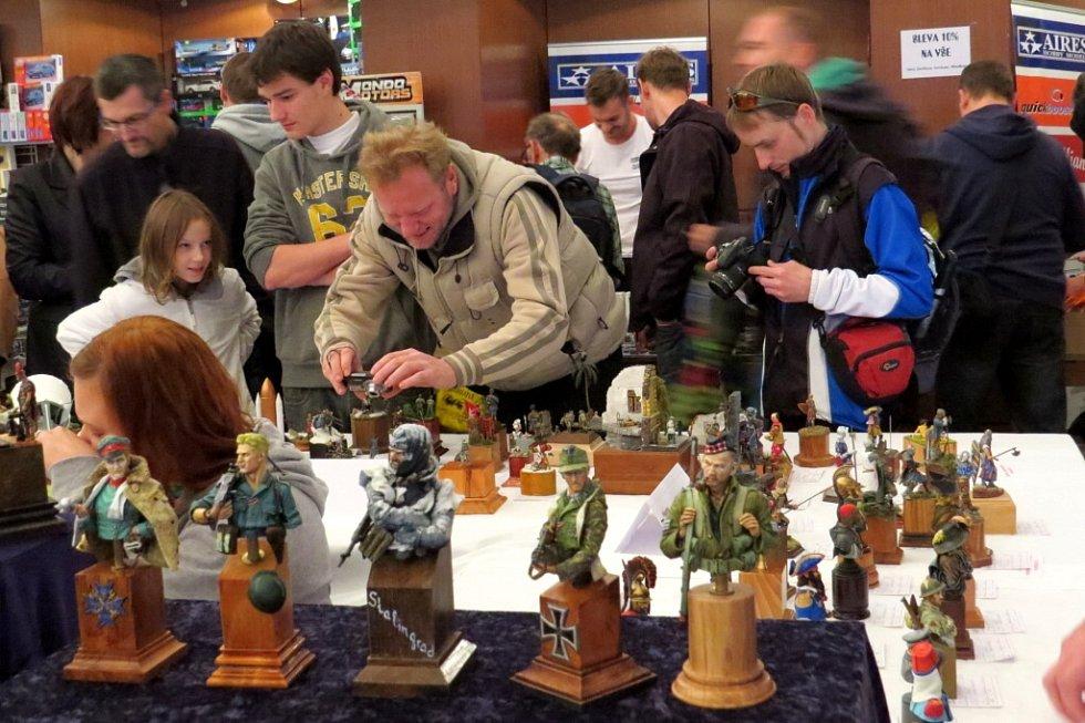 Výstava modelů Beskyd Model Kit Show v Kopřivnici.