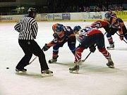 Hokejisté Nového Jičína přišli v utkání 19. kola II. ligy o domácí neporazitelnost, která trvala osm zápasů v řadě.