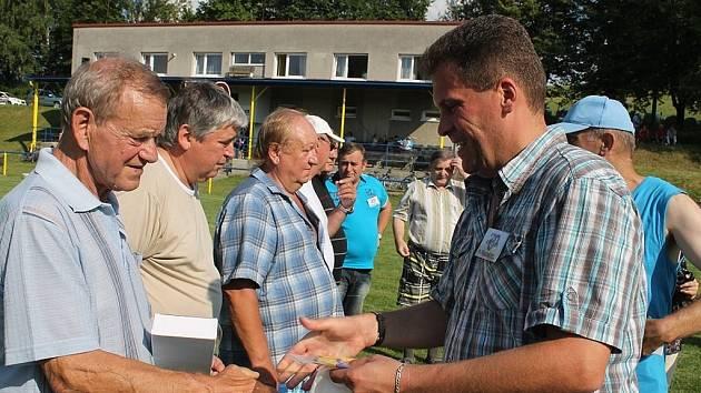 TJ Sokol Tichá oslavil v sobotu 19. července 2014 sedmdesát let trvání fotbalu.