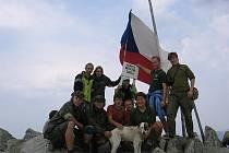 Příborští skauti zdolali rumunské Karpaty.