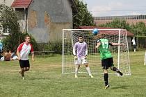 Fotbalový turnaj v Hladkých Životicích.
