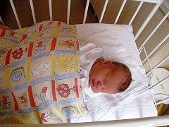 Alena Novotná, nar. 21. 7. 2010, 48 cm, 3,20 kg, Kopřivnice, nemocnice Nový Jičín.