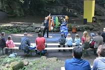 Kamenné divadlo v části Skalky v Novém Jičíně existuje mnoho desítek let.