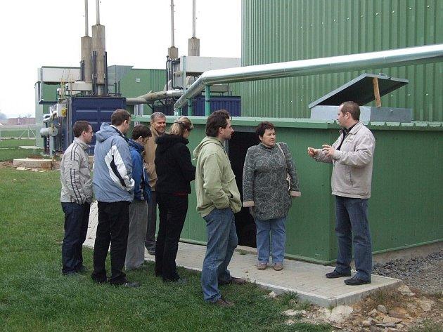 Pustějovská bioplynka funguje od roku 2007.