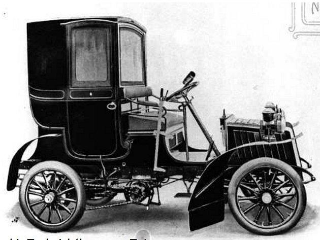 Druhá série, označená jako Neuer Vierer, byla vedená jako typ B. Zatí m co Alter Vierer měl stále podobu kočáru, typ B se už podobal automobilu.