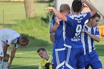 Fotbalisté Frenštátu pod Radhoštěm museli na hřišti nedaleké Čeladné skousnout debakl 0:7.
