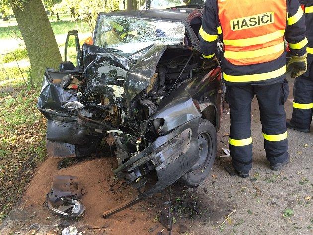 Těžkým zraněním skončila nehoda, která se stala v pondělí odpoledne v obci Velké Albrechtice na Novojičínsku.