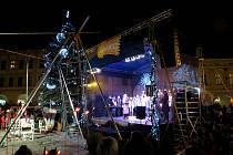 Mikuláš odstartoval vánoční trhy v Novém Jičíně