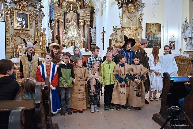Noc kostelů se vPříboře uskutečnila 24.května vkostele sv. Valentina.
