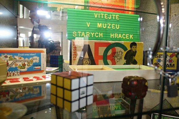 Vmuzeu hraček vBílovci si každý rád zavzpomíná.
