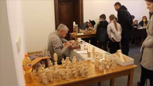 Setkání betlémářů v muzeum v Příboře