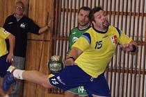 Jiří Gřes se vrátil v létě do Kopřivnice a v každém utkání je hodně vidět. V nedělním zápase proti Hustopečím byl nejlepším střelcem domácích, kteří poprvé v sezoně vyhráli.