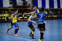 Porážku i vítězství zažili v minulém týdnu házenkáři Kopřivnice. Nestačili na Plzeň, ale zdolali Frýdek-Místek.