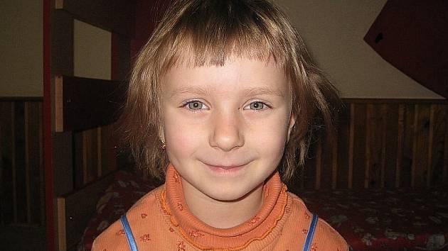 Ema Neuwirthová, 5 let, Kopřivnice: Já bych raději zůstala doma. Ve školce mě to nebaví, protože jsem tady dlouho a musím chodit spát.