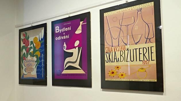 Výstavu historických plakátů je možno zhlédnout od čtvrtku 27. června v příborském muzeu.