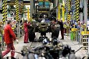 Výrobní hala kopřivnické automobilky Tatra Trucks.