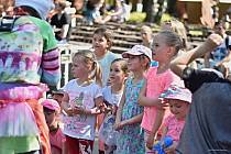 Den dětí a rodiny se konal v neděli v Městském parku v Příboře.