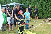 Den se záchranáři ve Frenštátě pod Radhoštěm v sobotu přilákal řadu zvědavců.
