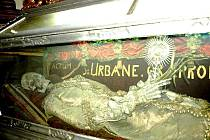 Ostatky svatého Urbana budou přesně po sto letech o víkendu k vidění v Příboře .