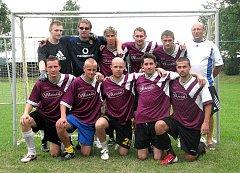 Vítěz turnaje, tým Young Boys Nový Jičín.
