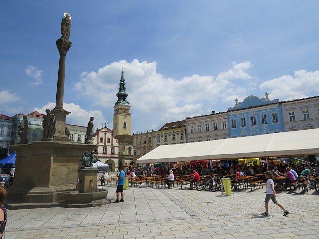 5. ročník tradičního Pivobraní na Masarykově náměstí v Novém Jičíně.