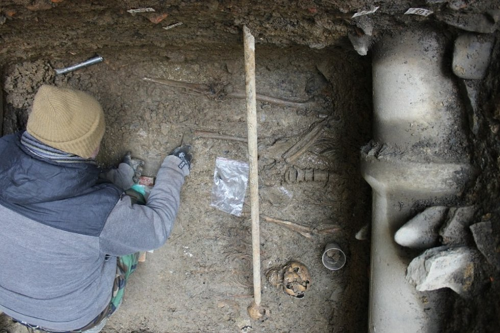 Aktuální objev archeologů ve Fulneku na Novojičínsku.