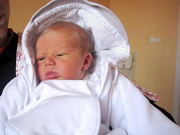 Tobias Neuwirth, Frenštát pod Radhoštěm, nar. 30.10.2009, 51 cm, 3,61 kg, nemocnice Nový Jičín.