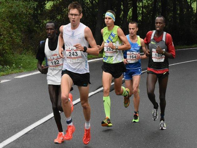 15. ročník Běhu rodným krajem Emila Zátopka měl rekordní účast.