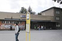 Autobusové nádraží v Bílovci. Ilustrační foto.