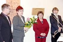 Před dvěma lety cenu sv. Martina za mimořádný umělecký přínos městu dostala Marie Hrnčířová, umělecká vedoucí Valašského souboru Radhošť z Trojanovic.