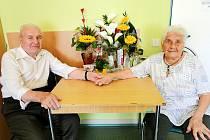 Manželé Kalíškovi slavili na začátku srpna 75 let společného života.