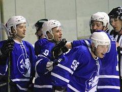 II. hokejová liga, sk. Východ, 15. kolo: HK Nový Jičín – Draci Šumperk 4:2 (1:1, 1:0, 2:1)