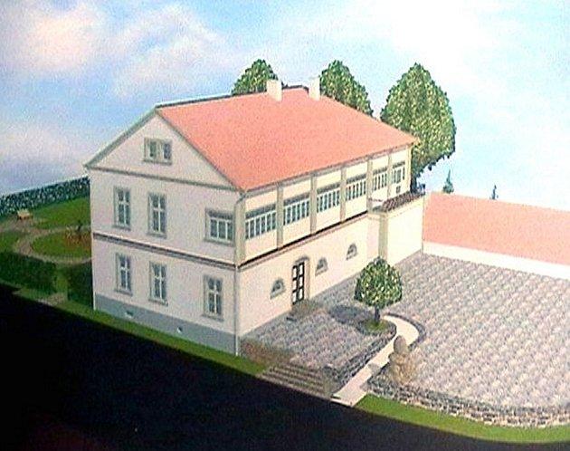 Takto vypadá studie zámku v Sedlnicích.