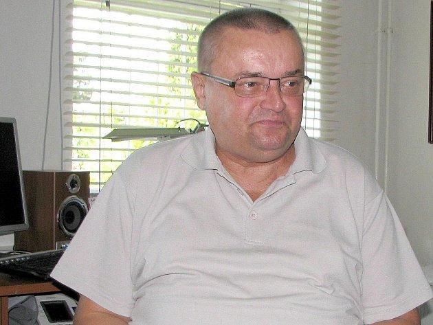 Primář dětského oddělení novojičínské nemocnice Miroslav Kobsa.